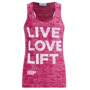 Myprotein Women's Burnout Tank - Pink