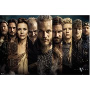 Vikings Grid - Maxi Poster - 61 x 91.5cm