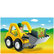 Playmobil 1.2.3 Graafmachine met werkman (6775)