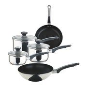 Prestige Everyday 5 Piece Stainless Steel Straining Cookware Set