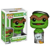 Barrio Sésamo Oscar The Grouch Pop! Vinyl Figure