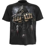 Spiral Men's GAME OVER T-Shirt - Black