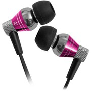 JLab - Jbuds Pro Premium Metal Earphones with Mic - Pink
