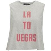 MINKPINK Women's Vegas Baby Tank Top - Grey