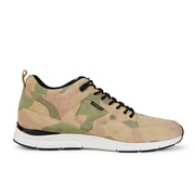 Gourmet Men's 35 Lite Camo LX Trainers - Camo/White Leather