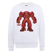 Marvel Avengers Age of Ultron Hulkbuster X-Ray Sweatshirt - White