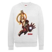 Marvel Avengers Age of Ultron Iron Man Sweatshirt - Ash Grey