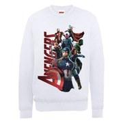 Marvel Avengers Age of Ultron Team Avengers Sweatshirt - White