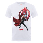 Marvel Avengers Men's Age of Ultron Thor T-Shirt - White