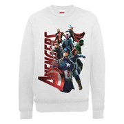 Marvel Avengers Age of Ultron Team Avengers Sweatshirt - Ash Grey