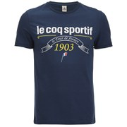 Le Coq Sportif Tour de France 2015 N1 Short Sleeved T-Shirt - Blue