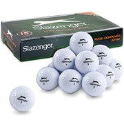 Slazenger Raw Distance Spin Golf Balls - 15 Pack