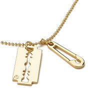 McQ Alexander McQueen Women's Razor Light Pendant - Shiny Gold