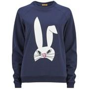 Peter Jensen Women's Rabbit Head Sweatshirt - Navy
