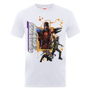 Marvel Guardians of the Galaxy Men's Team Pose T-Shirt - White