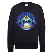 Marvel Guardians of the Galaxy Starship Sweatshirt - Black