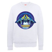 Marvel Guardians of the Galaxy Starship Sweatshirt - White