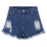 The Fifth Women's Go Outside Denim Shorts - Denim