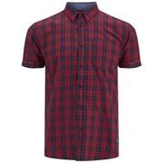 Jack & Jones Men's Roy Shirt - Ribbon Red