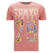 Tokyo Tigers Men's Mauna Printed T-Shirt - Pale Coral