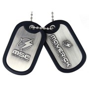 Metal Gear Solid Rising Maverick Logo Dog Tags