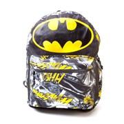 DC Comics Batman Big Logo Comic Artwork Backpack