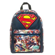 DC Comics Superman Big Logo Comic Artwork Backpack