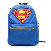 DC Comics Superman Big Logo Novelty Red Cape Backpack