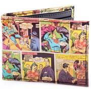 DC Comics Superman Classic Comic Art Bi-Fold Wallet