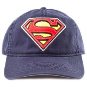DC Comics Superman Embroidered Iconic Logo Vintage Cap