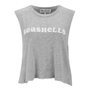 Wildfox Women's She Sells Sea Shells Tank Top - Grey