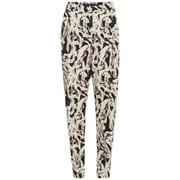 Karl Lagerfeld Women's Swirl Printed Carrot Pants - Paint Swirl