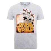 Star Wars Men's Stormtroopers T-Shirt - Heather Grey