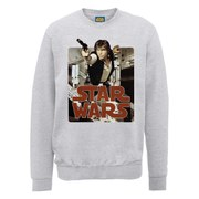 Star Wars Han Solo Sweatshirt - Heather Grey