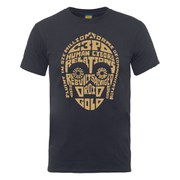 Star Wars Men's C-3PO Text Head T-Shirt - Charcoal