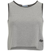Myprotein Women's Cropped Vest, Grey