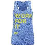 Myprotein Women's Burnout Vest, Blue