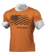 Better Bodies Street T-Shirt - Wash Orange