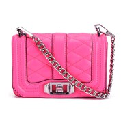 Rebecca Minkoff Women's Mini Love Cross Body Bag - Electric Pink