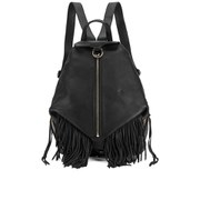 Rebecca Minkoff Women's Fringe Julian Backpack - Black