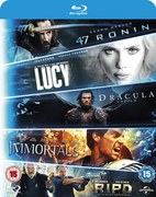 Blu-ray Starter Pack - incluye Lucy, Dracula Untold, 47 Ronin, Immortals, R.I.P.D