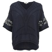IRO Women's Brynn Top - Navy