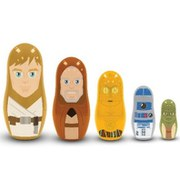 Star Wars Jedi and Droids Nesting Dolls Set