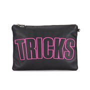 House of Holland Women's Nylon Tricks Clutch - Black
