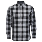 Produkt Men's DEK 83 Long Sleeved Check Shirt - Black