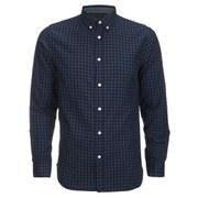 Produkt Men's DEK 83 Long Sleeved Check Shirt - Navy Blazer
