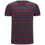 Jack & Jones Men's Core Ken Crew Neck T-Shirt - Barbados Cherry