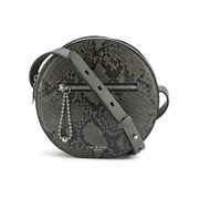 rag & bone Women's Circle Bag - Asphalt Python