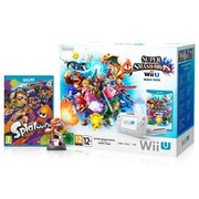 Wii U Splatoon + Inkling Girl amiibo + Super Smash Bros. Pack