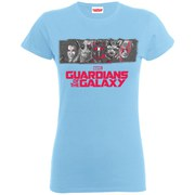 Marvel Women's Guardians of the Galaxy Team Logo T-Shirt - Sky